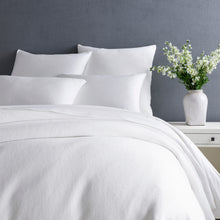 Load image into Gallery viewer, MONTAUK WHITE DUVET COVER
