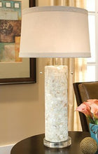 "Load image into Gallery viewer, Mother of Pearl 29"" Table Lamp"
