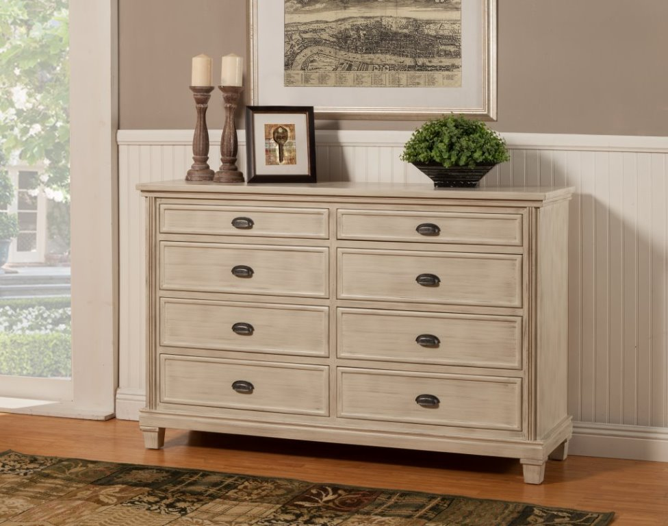 THE CITY 8 DRAWS DRESSER