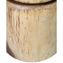 Load image into Gallery viewer, Pendulum Side Table In Natural Finish (12.5x12.5x18)