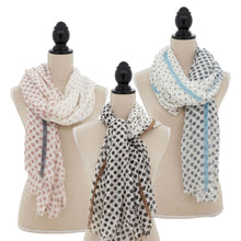 Load image into Gallery viewer, S7008 Polka Dot Scarf