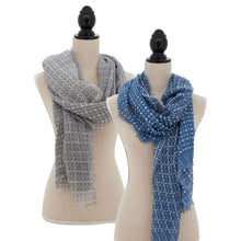 Load image into Gallery viewer, S7009 Dot Dash Scarf