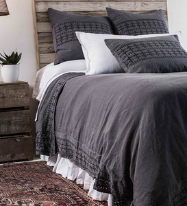LAYLA - MIDNIGHT DUVET COVERS & SHAMS