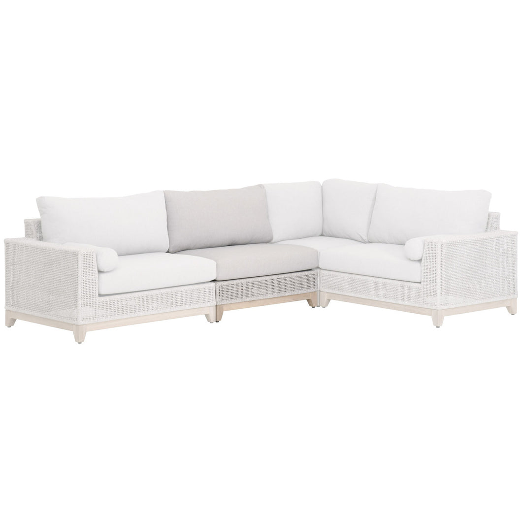 TROPEZ OUTDOOR MODULAR ARMLESS SOFA