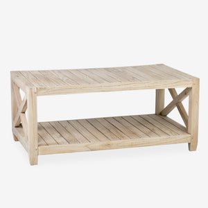 Promenade Slatted Coffee Table (41x23.75x18)