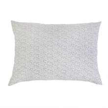 "Load image into Gallery viewer, JUNE OCEAN/ GREY BIG PILLOW 28"" X 36"" WITH INSERT"