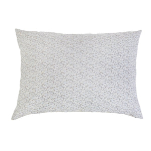 "JUNE OCEAN/ GREY BIG PILLOW 28"" X 36"" WITH INSERT"