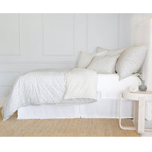 Load image into Gallery viewer, JUNE - OCEAN/GREY DUVET COVERS AND SHAMS