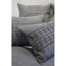 Load image into Gallery viewer, LAYLA - MIDNIGHT DUVET COVERS & SHAMS