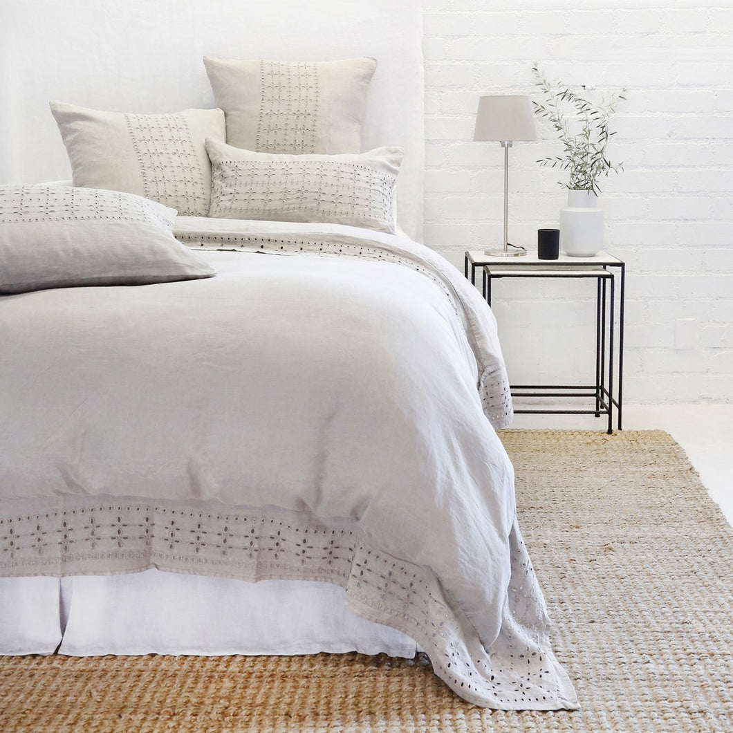 LAYLA - TAUPE DUVET COVERS AND SHAMS