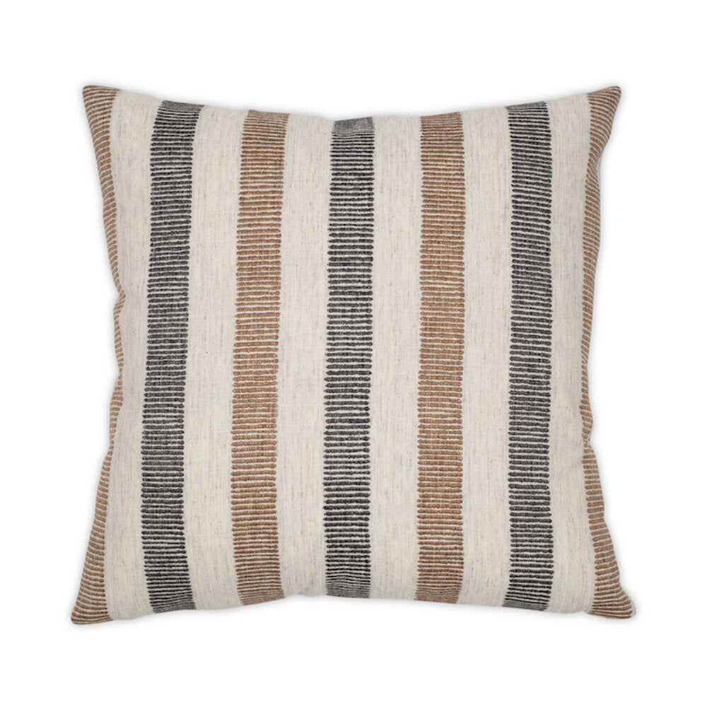 KNOTTED STRIPE PILLOW