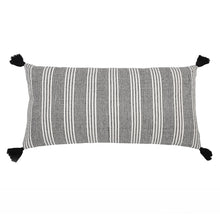 "Load image into Gallery viewer, PIPER HAND WOVEN PILLOW 20"" X 36"" WITH INSERT"