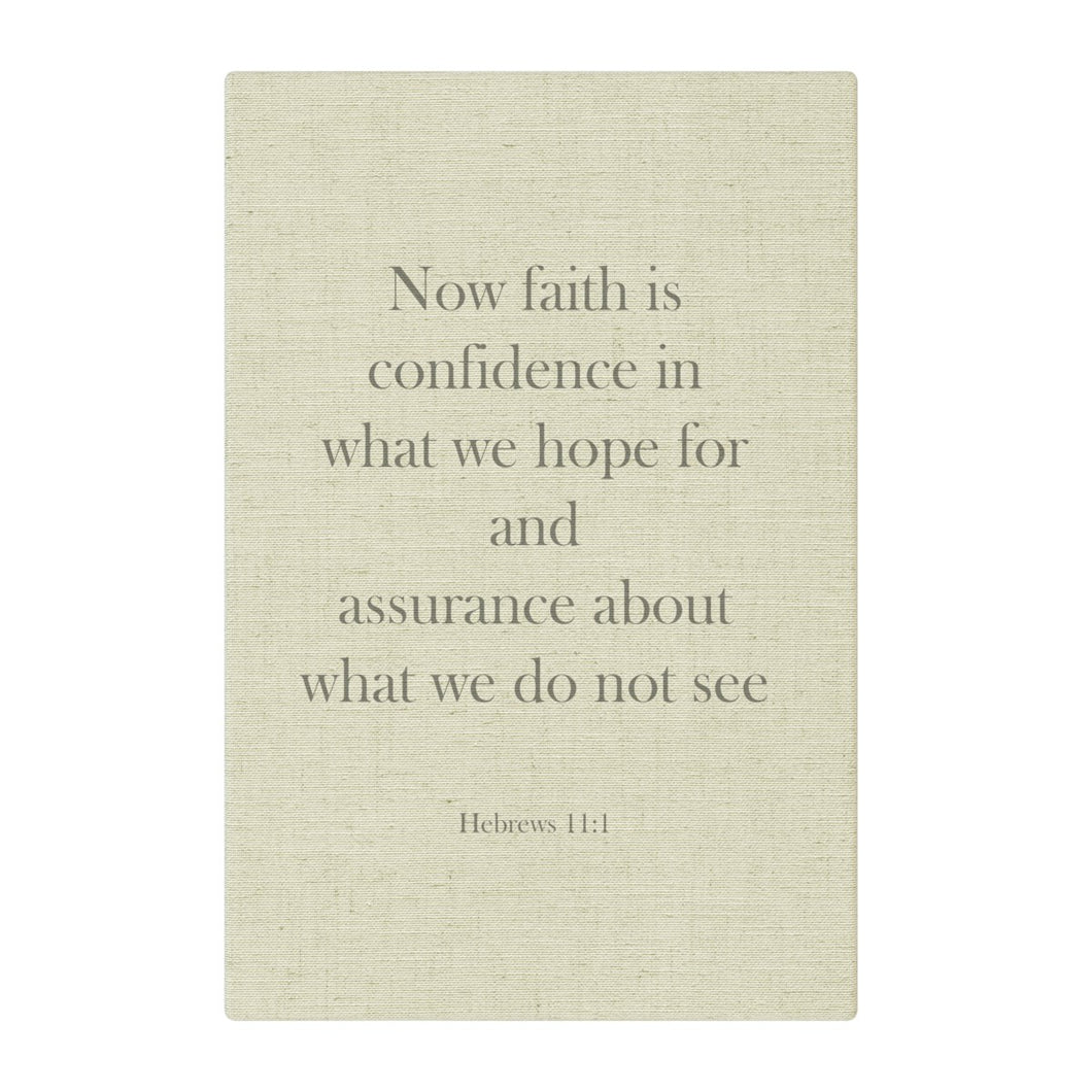 Now Faith is Confidence