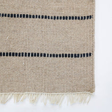 Load image into Gallery viewer, WARBY HANDWOVEN RUG - NATURAL