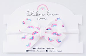 Kawaii Rainbow Bow