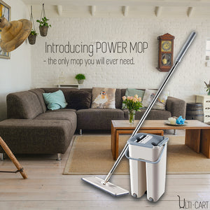 Power Mop - Hands-free washing | 4 in 1 mop
