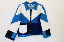 Load image into Gallery viewer, Patchwork Denim Jacket #1