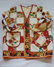Load image into Gallery viewer, Vintage Quilt Jacket #3