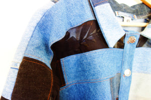 Patchwork Denim Jacket #2