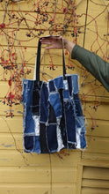 Load image into Gallery viewer, XL Denim Tote Bag