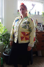 Load image into Gallery viewer, Vintage Quilt Jacket #5
