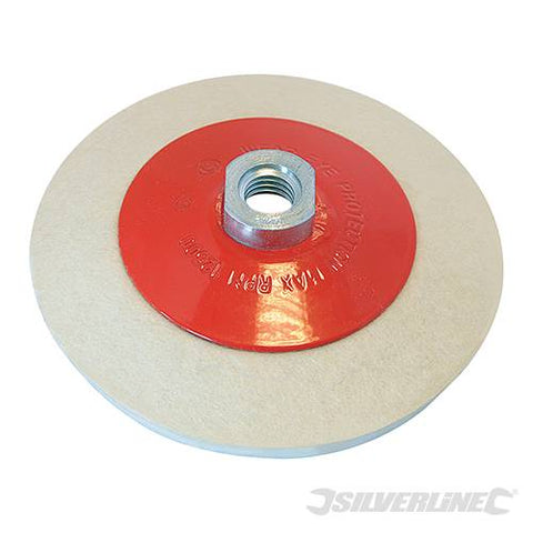 Bevelled Felt Buffing Wheel