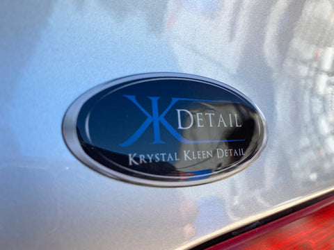 KKD Domed Stickers