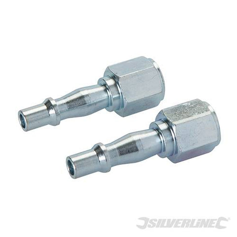 Air Line Coupling Bayonet Female Thread 2pk