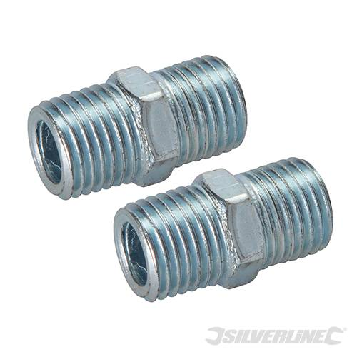 Air Line Equal Union Connector 2pk