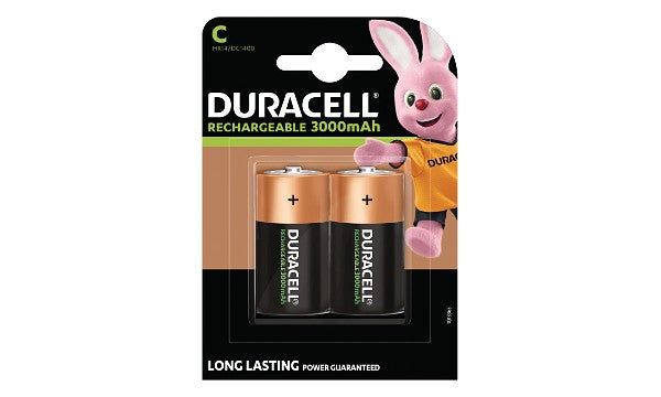 Duracell Rechargeable C Cell - 2 Pack