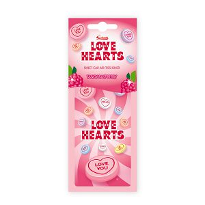 Love Hearts Air Freshener 2D card