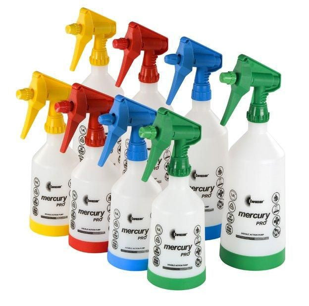 Mercury Pro+ 1.0 litre Double-Action Trigger Spray