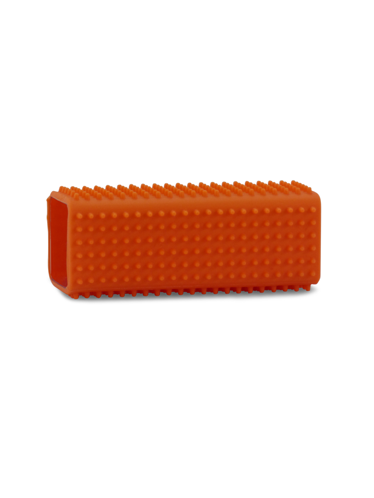Orange Tube Pet Hair Brush