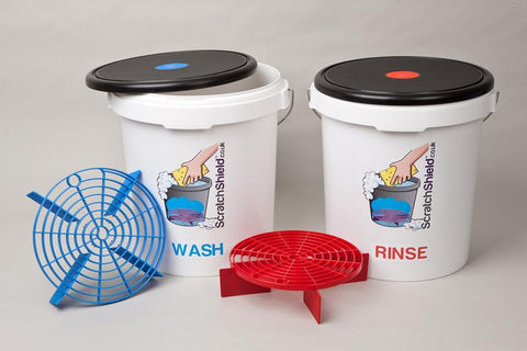 ScratchShield Bucket, Lid & Filter Set