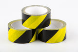 Safe Distance Black/Yellow Warning - Floor Tape