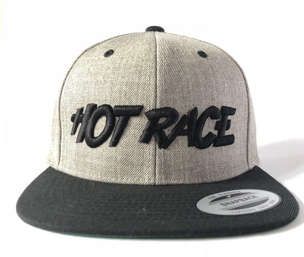 HRCAPGRAY HOTRACE new special US Style Cap (Gray)