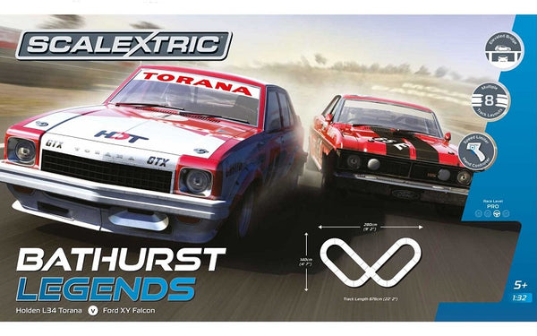 SCA-C1365 C1365 Scalextric Bathurst Legends Set