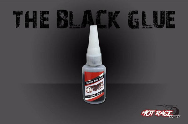 HRGLUBLK Hot Race Black Tyre Glue