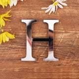 Acrylic English Letters Wall Sticker 3D DIY Personalized Name Self-adhesive Mirror Stickers for Wedding Birthday Home Decor