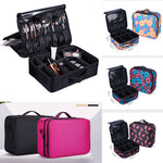 Big  Storage Bag Women Professional Large Make Up Bag Vanity Case Cosmetic Nail Tech Storage Beauty Box organizer
