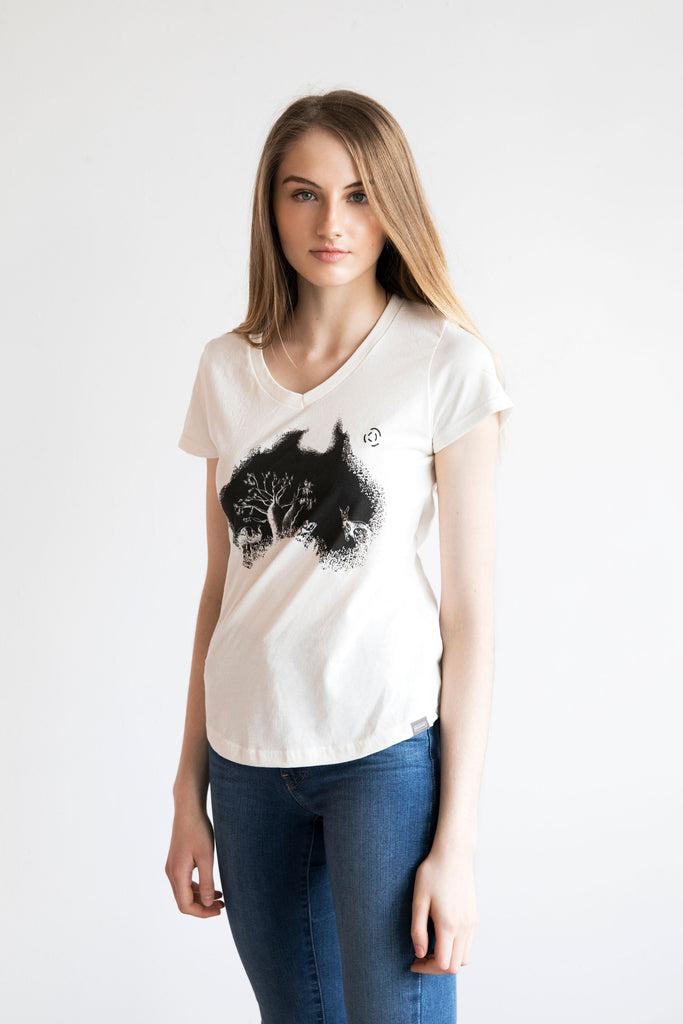 ECOSTRAYA WOMEN'S T-SHIRT