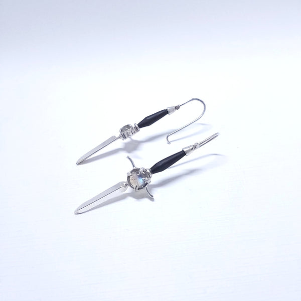 the athame- earrings