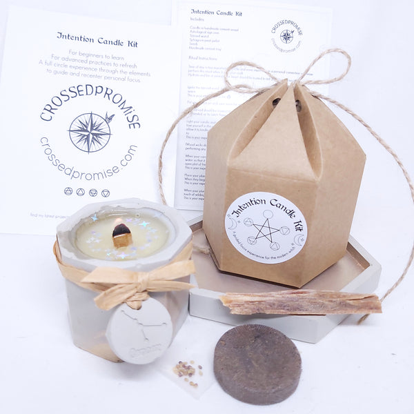 intention candle kit-series two