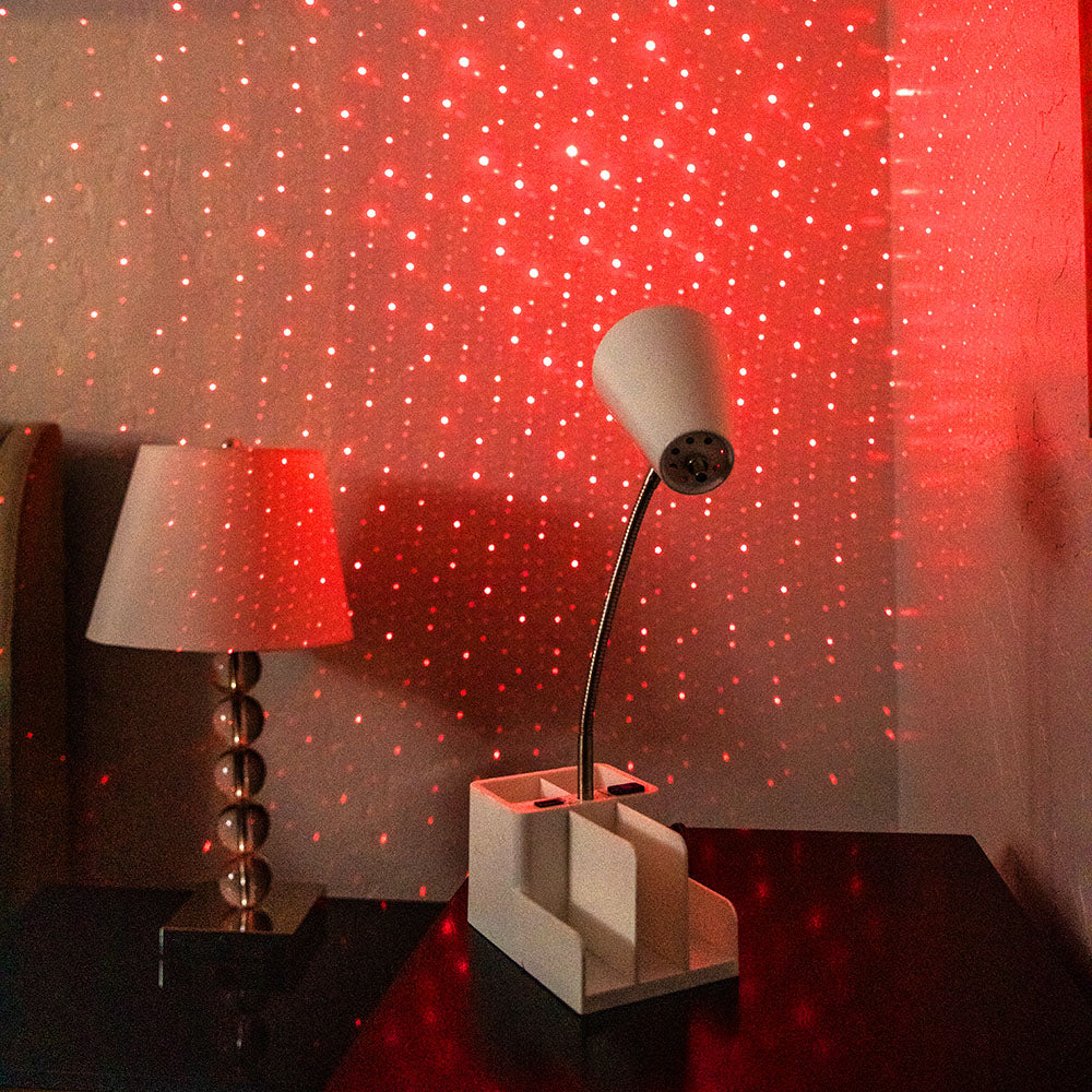 red star light with blissbulb
