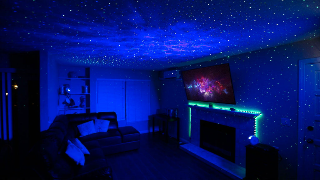 at home movie theater lighting