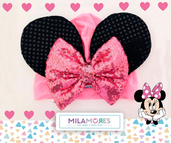 Turbante Minnie Girl Pink - Milamores Store Mx