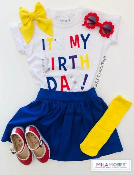 Conjunto Birthday Girl