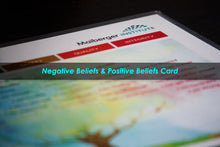 Load image into Gallery viewer, Negative Beliefs & Positive Beliefs Card