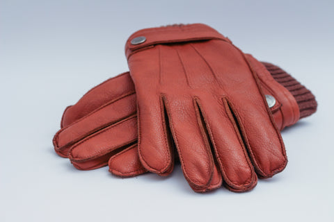 rough leather gloves