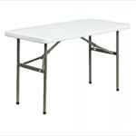 4 seater plastic table